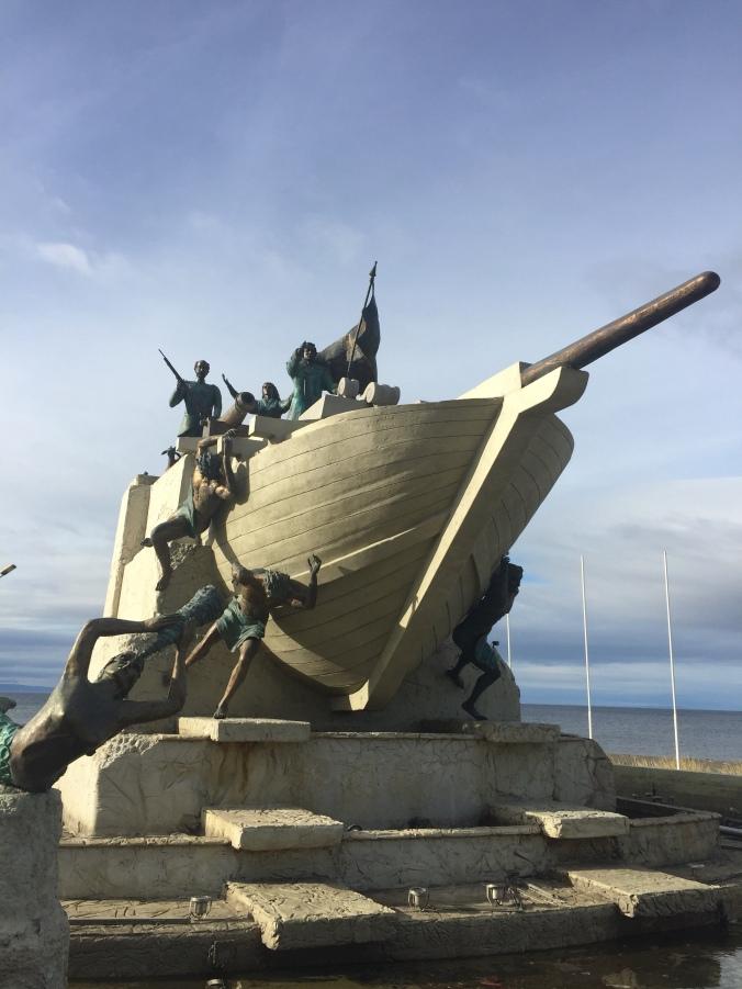 Monument aux premiers habitants